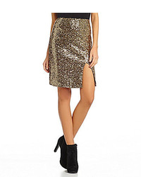 Gianni Bini Jenner Sequined Skirt