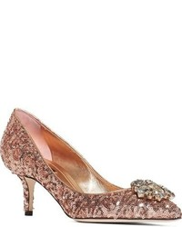 Dolcegabbana paillette bellucci embellished pump medium 879631