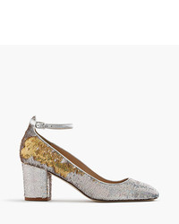 J.Crew Sophia Pumps In Sequin