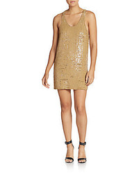 3.1 Phillip Lim Plumage Sequined Shift Dress