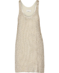 3.1 Phillip Lim Sequined Silk Georgette Mini Dress