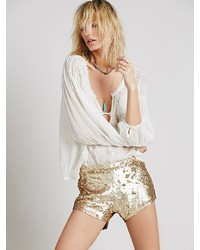Free People Katrin Sequin Short