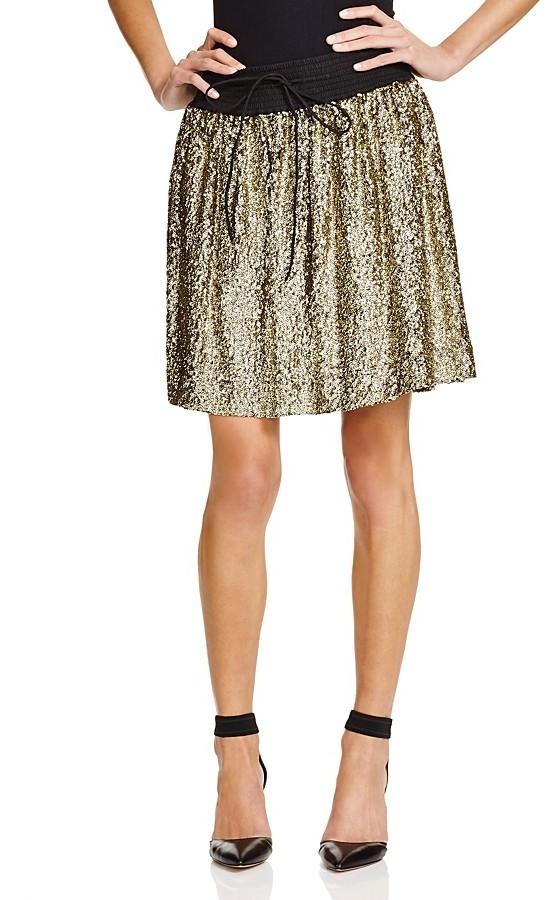 Essentiel Sequin Skirt