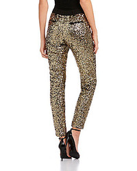 Chelsea & Violet Sequined Skinny Pants