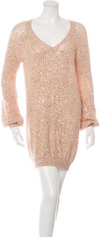 9d600b8524 ... Stella McCartney Sequined Sweater Dress ...
