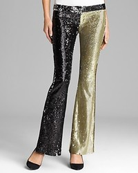 Pants Saturday Night Sequin Flare