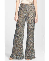 Asos Collection Premium Wide Leg Pant In Sequin | Where to buy ...