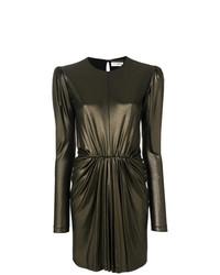 Saint Laurent Gathered Waist Dress