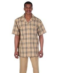 Gold Short Sleeve Shirt