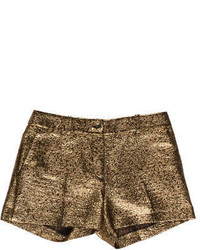 Michael Kors Michl Kors Metallic Mini Shorts
