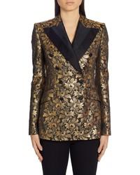 Dolce & Gabbana Lame Silk Jacquard Blazer