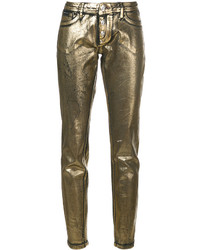 Philipp Plein Goldy Life Jeggings