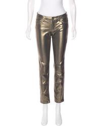 Kate Spade New York Metallic Skinny Jeans