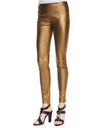 Gold Skinny Pants