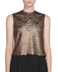 Metallic lace top medium 3804078