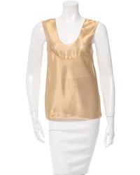 Metallic sleeveless top medium 3804079