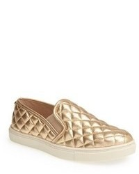 Gold slip on sneakers original 9767425