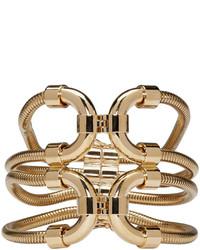 Lanvin Gold Snake Chain Bracelet