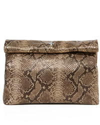 Marie turnor accessories embossed lunch clutch medium 1041857