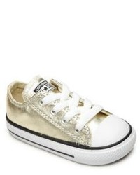 Converse Babys Toddlers Metallic Chuck Taylor All Star Lace Up Sneakers