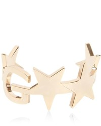 Givenchy New Logo Star Brass Cuff Bracelet