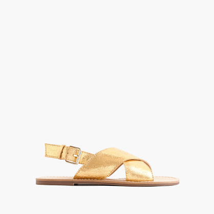 J.Crew Girls Cyprus Suede Sandals