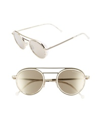 CUTLER AND GROSS 47mm Round Sunglasses