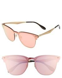 Ray-Ban 52mm Mirrored Sunglasses Copper