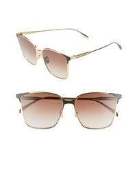 Alexander McQueen 57mm Square Sunglasses