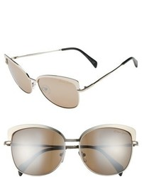 Draper James 60mm Cat Eye Sunglasses
