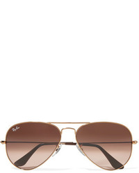 Ray-Ban Aviator Bronze Tone Sunglasses