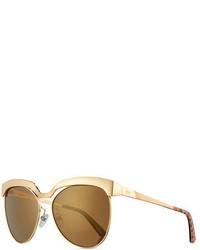 Classic mirrored cat eye sunglasses medium 1043998