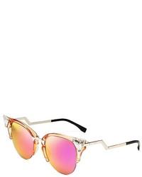 48521689a Women's Gold Sunglasses by Fendi | Women's Fashion | Lookastic.com