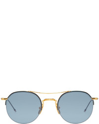 Thom Browne Gold Tb 903 Sunglasses
