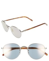 Oliver Peoples Hasset 52mm Sunglasses Silver