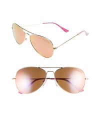 Lilly Pulitzer Lexy 59mm Polarized Aviator Sunglasses