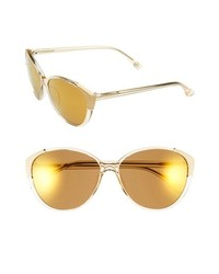 MICHAEL Michael Kors Michl Michl Kors Paige 58mm Sunglasses Champagne Gold One Size