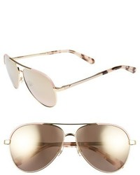 Kate Spade New York Amaris 59mm Sunglasses Gold Pink