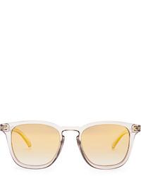 Le Specs No Biggie Square Frame Sunglasses