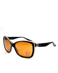 Oakley Sunglasses News Flash Black Shadow 55mm