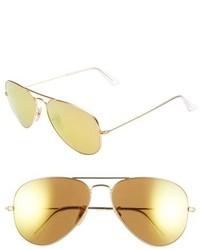 Original aviator 58mm sunglasses medium 224633