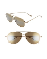 Maui Jim Shallows Polarizedplus2 59mm Aviator Sunglasses