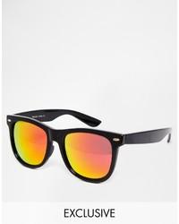 Reclaimed Vintage Square Sunglasses