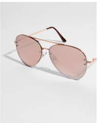Express Tinted Aviator Sunglasses
