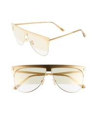 Tom Ford Winter 62mm Rectangular Sunglasses