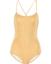 Gold Swimsuit
