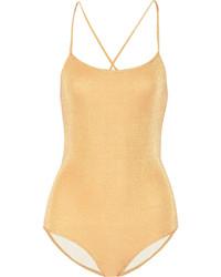 Melissa Odabash Caribe Metallic Swimsuit