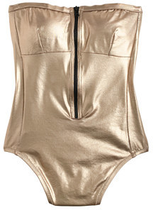 30f4cd1b0b7 ... Gold Swimsuits J.Crew Metallic Zip Front One Piece Swimsuit ...