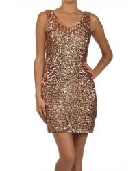 Gold Tank Dress