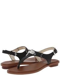 8066e3593488 ... MICHAEL Michael Kors Michl Michl Kors Mk Plate Thong Sandals